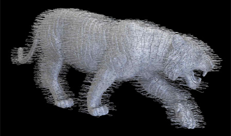 Coat Hanger Tiger