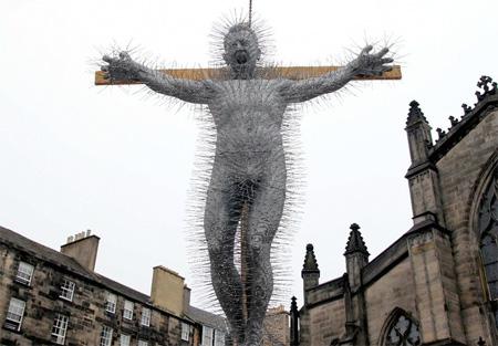 Coat Hanger Christ