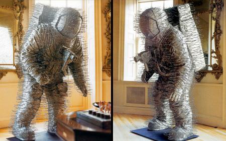 Coat Hanger Cosmonaut