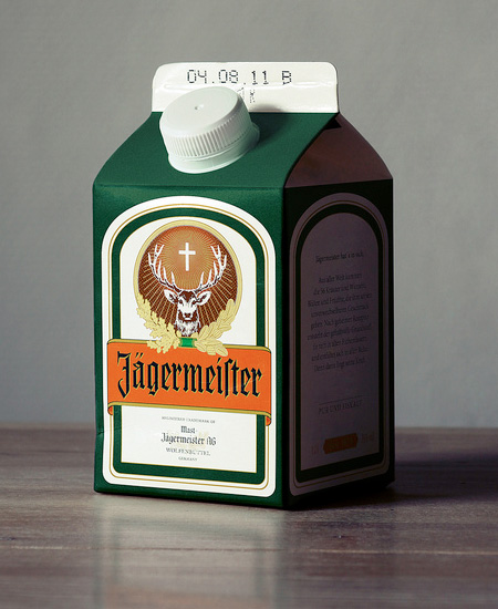 Jagermeister Packaging