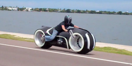 Electric Tron Lightcycle
