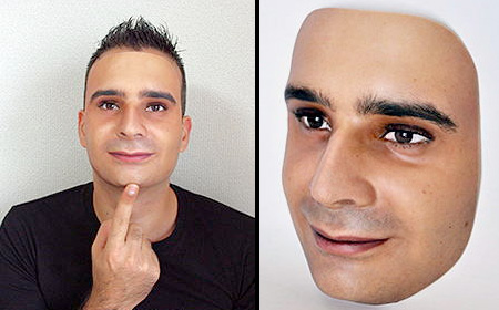 Realistic Face Mask