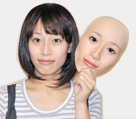 Realistic Human Face Mask