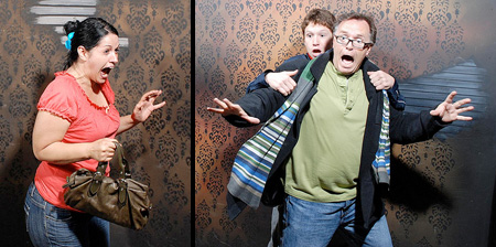 Photos of Scared People