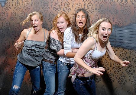 Scared Girls