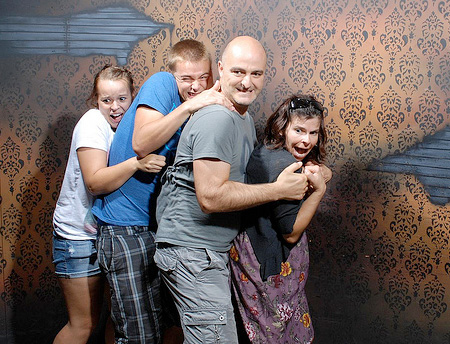 Scared Family
