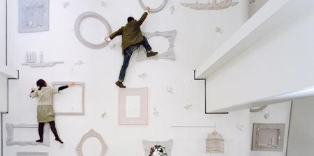 Whimsical Climbing Wall