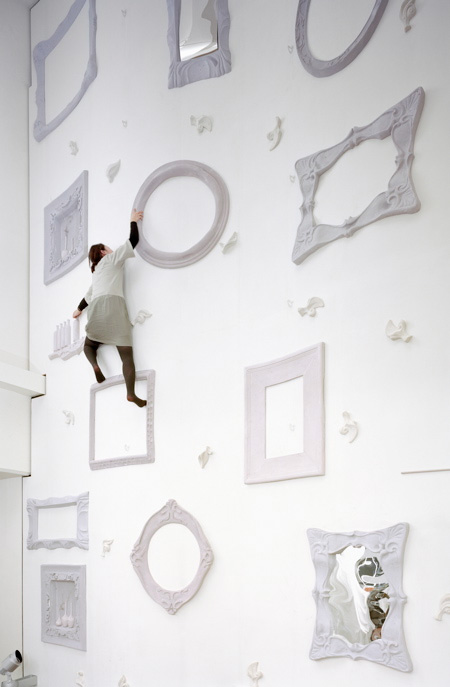 Alice in Wonderland Climbing Wall