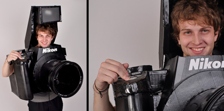 Nikon Camera Halloween Costume
