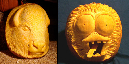 3D Pumpkin Carving Patterns http://www.toxel.com/inspiration/2011/10/26/3d-pumpkin-carvings/