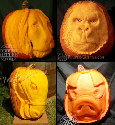 Animal Pumpkins