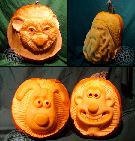 Fictional Characters Pumpkins