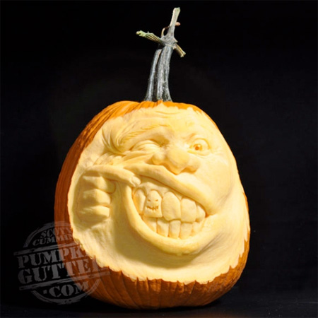 Bad Tooth Pumpkin