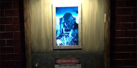 Scary Door for Halloween