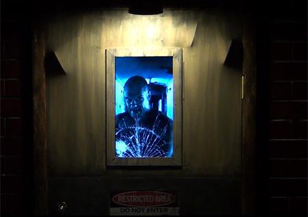 Axe Killer Door & Door for Halloween