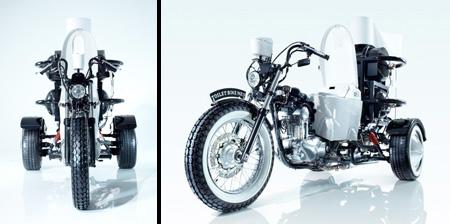 Toilet Powered Motorcycle