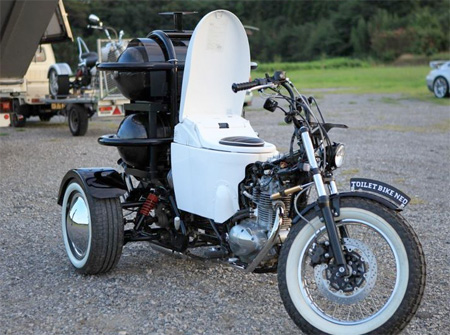 Toilet Motorcycle