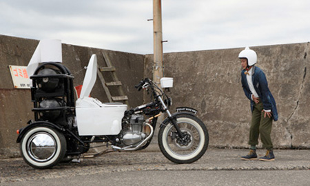 TOTO Toilet Bike