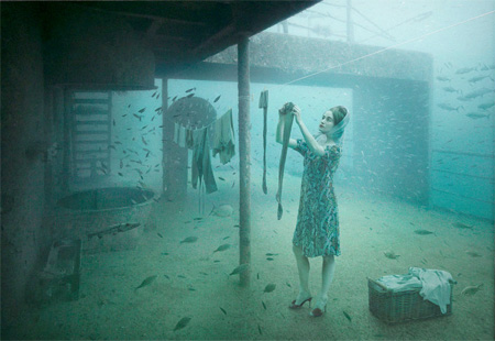 Andreas Franke Underwater Art Exhibit