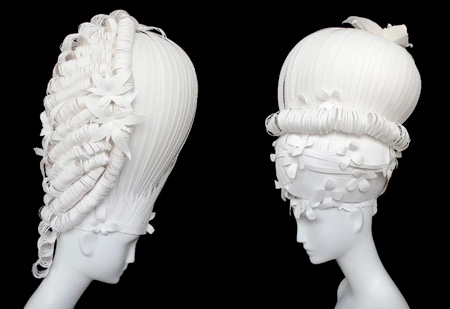 Wigs Made of Paper