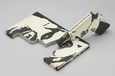 Carved Book Gun