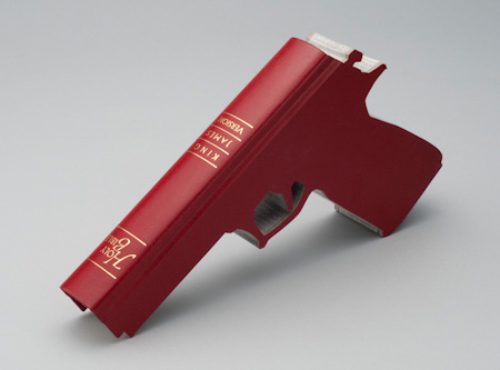 Holy Bible Gun