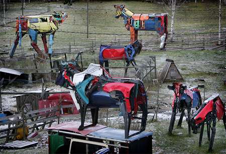 Cow Sculptures