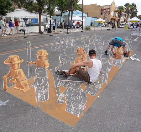 LEGO Street Painting