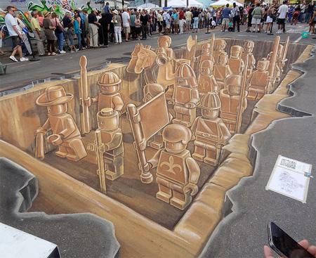 LEGO Street Drawing
