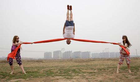 Amazing Gravity Defying Photo