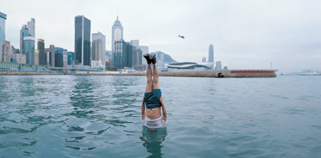 Li Wei Swiming