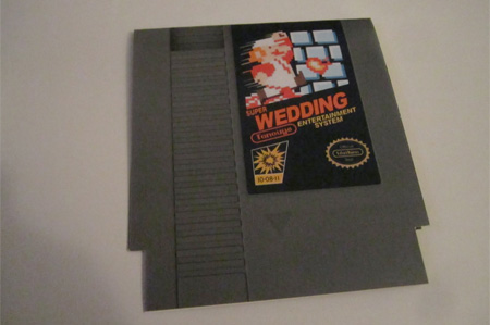 Super Mario Wedding