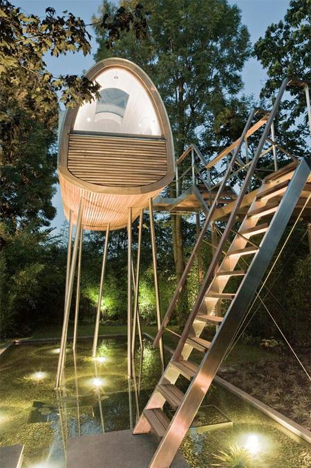 Modern Tree Cabin