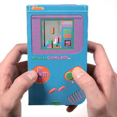 Paper Game Boy