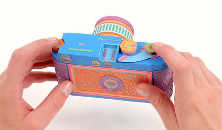 Paper Film Camera