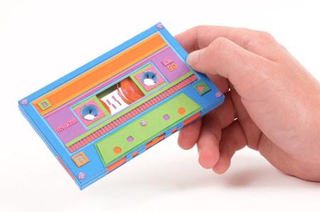 Paper Cassette Tape