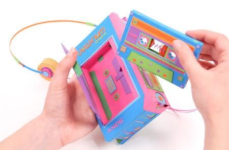 Paper Walkman