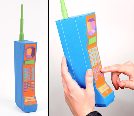 Paper Cell Phone