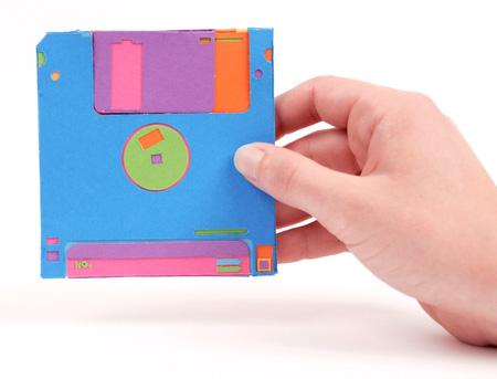 Paper Floppy Disk