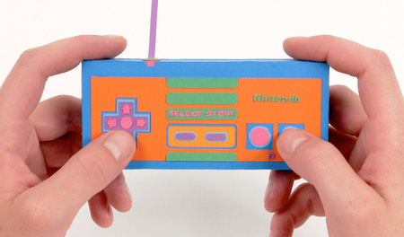 Paper NES Controller