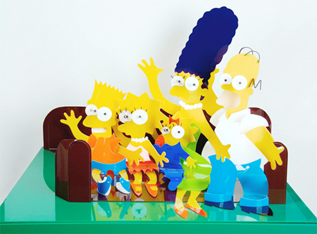 The Simpsons Sculpture