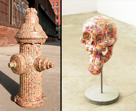 Haroshi Skateboard Sculptures