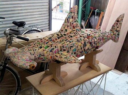 Skateboard Shark