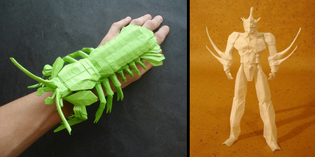 Amazing Origami Sculptures