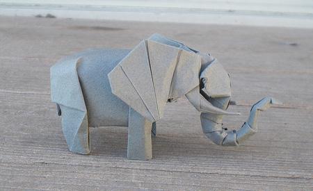 Origami Elephant