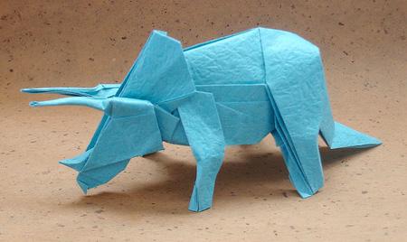 立体折纸动物猩猩