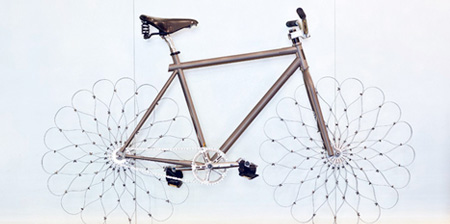 Bicycle with Steel Wheels