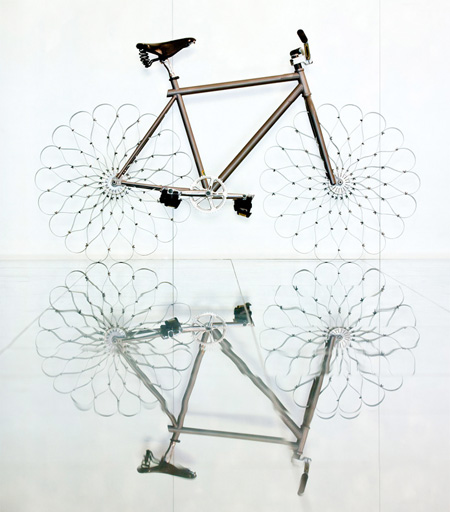 Bike with Metal Wheels