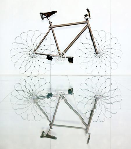 Bike with Metal Wheels