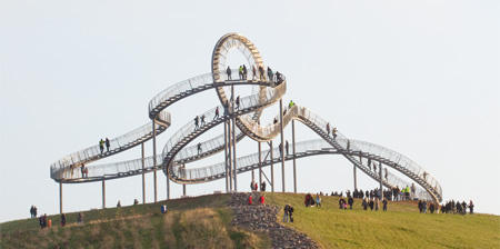 Walkable Roller Coaster